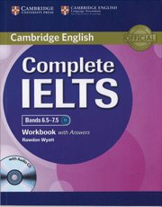 Complete IELTS Bands 6.5-7.5 Workbook with Answers with Audio CD pdf