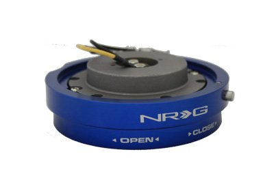 NRG Innovations SRK-400BL Blue Thin Quick Release