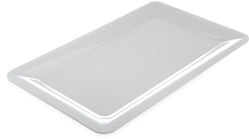 Carlisle 4442002 Designer Displayware Melamine Full-Size Food Pan, 20-3/4 x 12-3/4 x 1