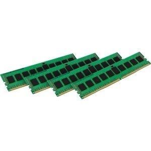 Kingston 32GB Kit (4x8GB) - DDR4 2133MHz - 32 GB (4 x 8 GB) - DDR4 SDRAM - 2133 MHz DDR4-2133/PC4-17000 - 1.20 V - ECC - Registered - 288-pin - Generic Ecc Registered