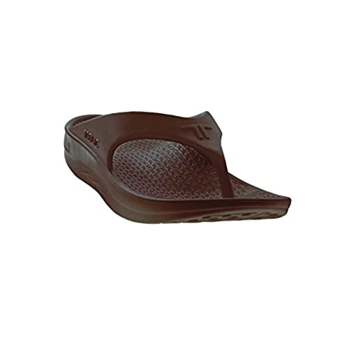 e1fad495594 outlet Telic Women s Fashion Flip Flop Sandal (Made in the USA) (Espresso  Brown