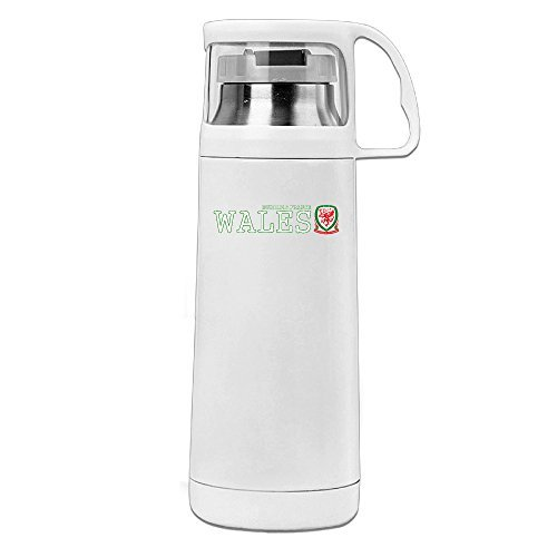 EURO 2016 Wales Thermos Water Bottle With A Handle Vacuum Insulated Cup