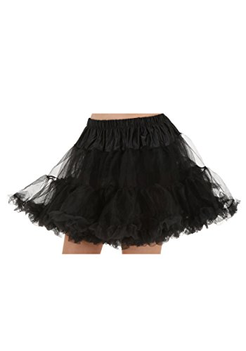 (Fun Costumes Plus Size Black Skirt Uplift Petticoat)