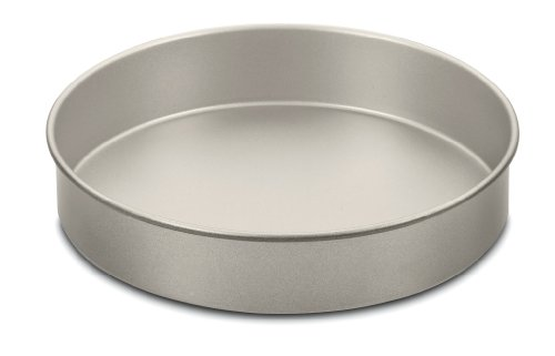 Cuisinart AMB-9RCKCH 9-Inch Chef's Classic Nonstick Bakeware Round Cake Pan, Champagne