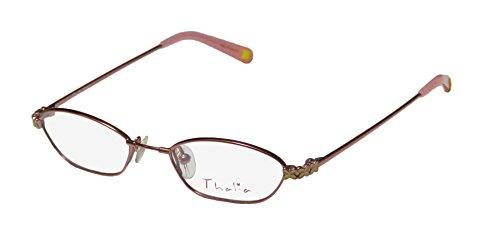 Thalia Deisy Childrens/Kids/Girls Designer Full-rim Eyeglasses/Spectacles (46-16-130, Shiny - For Frames Spectacle Girls