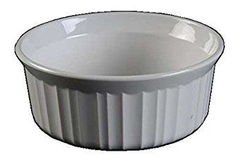 Corning Ware French White Individual Casserole / No Lid ( 16 Oz / 5 1/2
