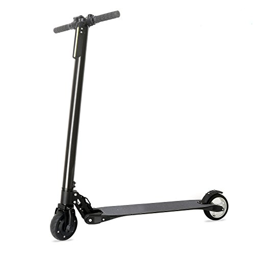 Flying Bird On Wind Carbon Fiber Folding Adult Kick Scooter Electric Scooter Foldable Kick Scooter, World's Lightest Electric Scooter (Black) by Flying Bird On Wind