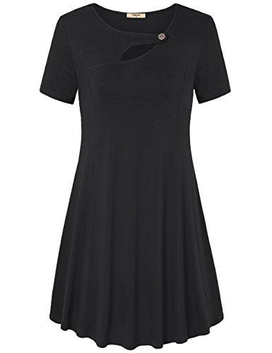 Jersey Keyhole Dress - 8