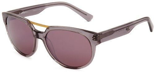 3.1 Phillip Lim Men's Dwayne Oval Sunglasses,Crystal Grey,57 mm by 3.1 Phillip Lim