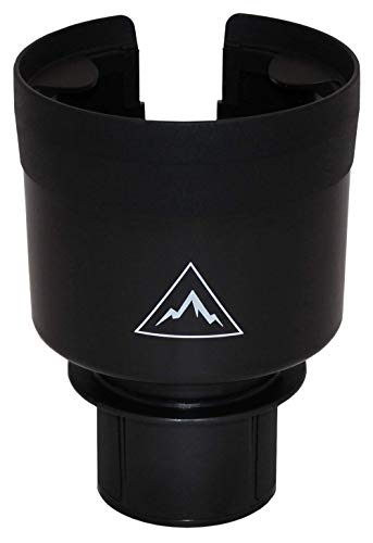 Essentially Engineered Car Cup Holder Adapter with Expandable Base for Yeti Ramblers, Rtic, Hydro Flask - Hold Large Bottles and Mugs (Car Cup Holder Adapter)