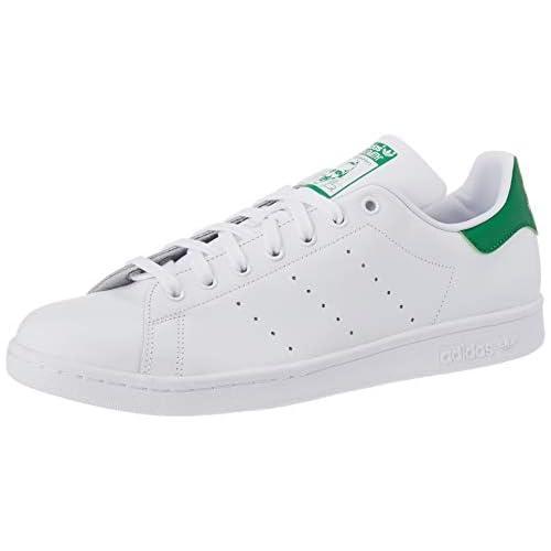 chollos oferta descuentos barato adidas Stan Smith Zapatillas de Gimnasia para Hombre Blanco Ftwrwhite Core White Green Ftwrwhite Core White Green 40 EU