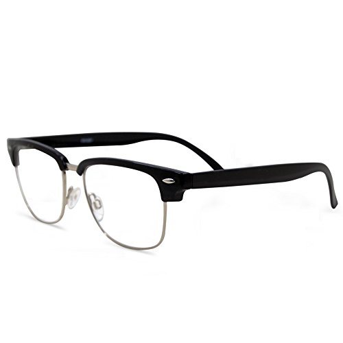 - In Style Eyes Sellecks Bifocal Reading Glasses for Both Men & Women/Black 2.00