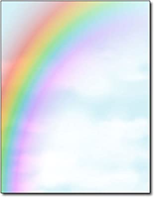 Rainbow Stationery Paper - 80 Sheets