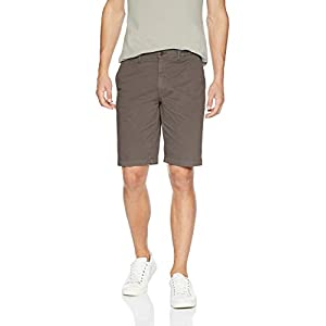 Amazon Brand – Goodthreads Men's 11″ Inseam Flat-Front Comfort Stretch Chino Short