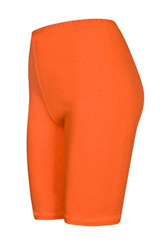 Con Sopra Hot Pants Colori Arancio Calzoncini Da 2 Pantaloncini Pack Ginocchio 16 Ux8Rqx1