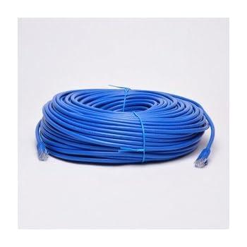 Amazon.com: UbiGear New 200ft 60m Blue RJ45 CAT5e Ethernet LAN ...