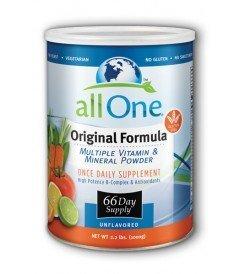 Все Одно порошок Несколько Витамины и минералы, оригинальная формула, 2,2-фунт Может