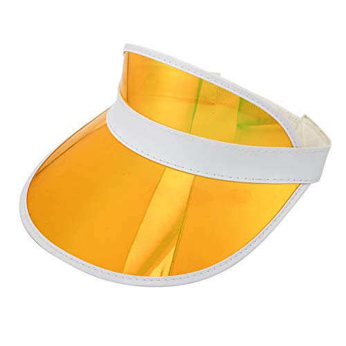 (Sun Visor Hat Outdoor UV Protection Sun Hat Cap for Women Men and Kids Sleeve Type Elastic (Elastic-Multicolor))