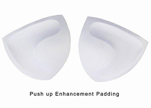 Zeraca Women's Tie Side Pantie Triangle Bikini Set (S6, Black)