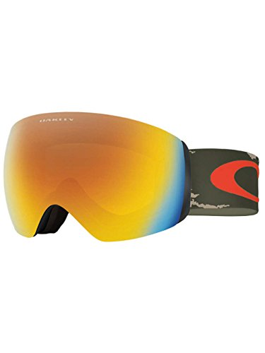 Oakley OO7064-34 Flight Deck XM Eyewear, Sheridan Copper Olive, Fire Iridium Lens (Flight Deck Helmet)