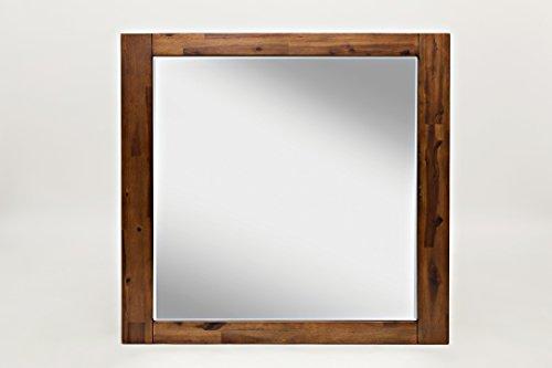 Jofran: 1503-20, Coolidge Corner, Landscape Mirror, 37''W X 1''D X 35''H, Brown Finish, (Set of 1) by Jofran