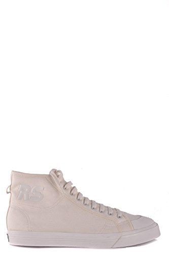 RAF Blanco Tela Simons Altas by MCBI009047O Hombre Adidas Zapatillas qH5xzwnH