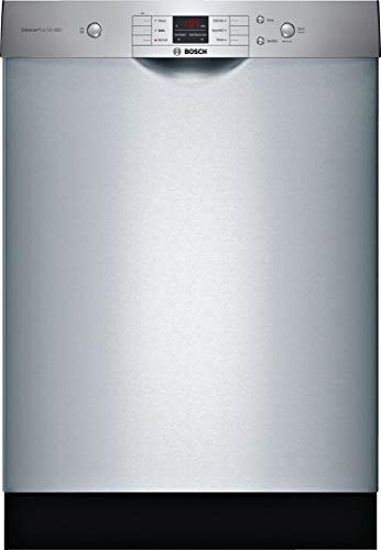 Bosch 24″ 100 Series Stainless Steel Dishwasher
