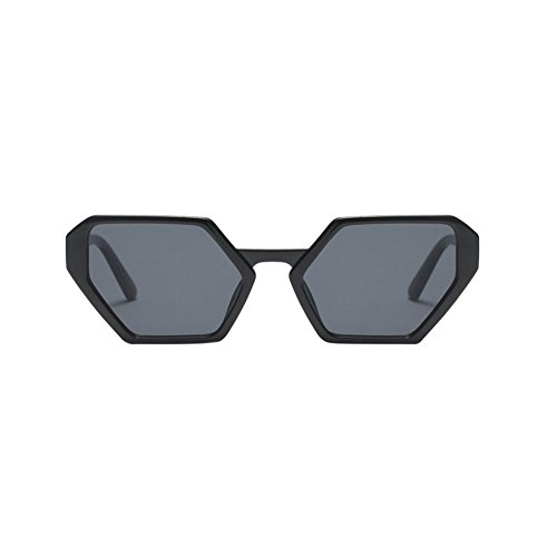 Limsea Hot Sale! Fashion Vintage Irregular Shape Retro Sunglasses (Sunglasses Wrap Dragon Around)
