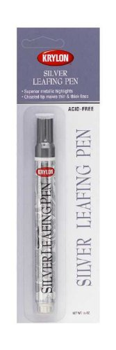 Krylon K09902A00 Leafing Pens, Silver, .33 -