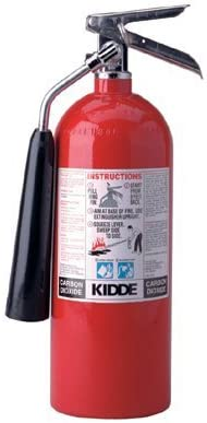 ProLine? Carbon Dioxide Fire Extinguishers Kidde BC Type 5 Lb Pro 5 Carbon Dioxide Fire Extinguisher Sold as 1 Each