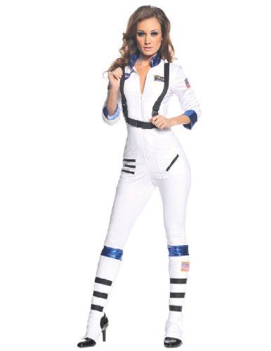 Underwraps Women's Blast Off, White, Small (Women Space Costume)