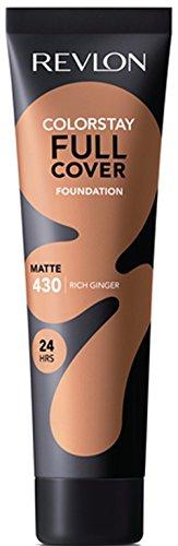 Revlon ColorStay Full Cover Foundation, Rich Ginger, 1.0 Fluid Ounce