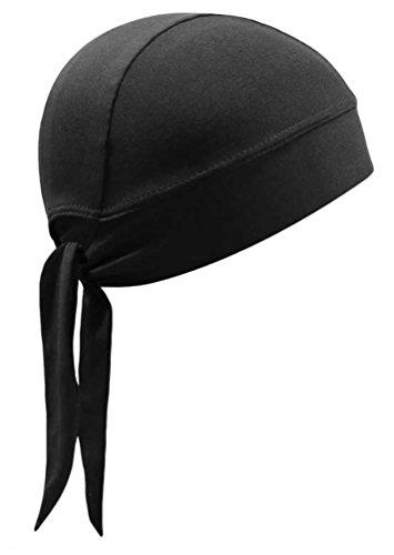 That's A Wrap Unisex Coolmax Performance Stretch Headwrap, Black HWCM02 ()