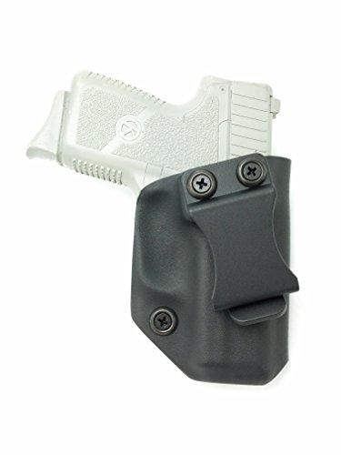 Fast Draw USA - Compatible with Kahr PM9 CM9 IWB Kydex Holster Inside Waistband Concealed Carry Holster Made in USA (Black-Right Hand)
