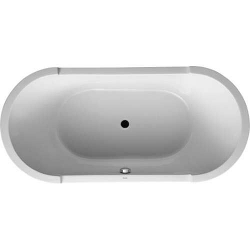 Duravit Starck Soaking Bathtub 700011000000090 White Alpin