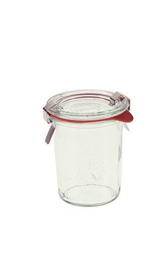 Weck 760 Mini Mold Jar, 5.4 Ounce - 12 Jars (Weck Canning Jars)