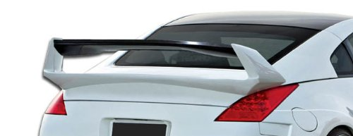 - Duraflex Replacement for 2003-2008 Nissan 350Z Z33 2DR Coupe AM-S Wing Trunk Lid Spoiler - 1 Piece