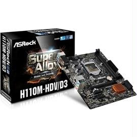 Amazon.com: ASRock Motherboard H110M-HDV/D3 Core i7/i5/i3 ...