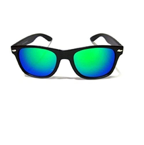 blue Miroir de UV400 mirror green Soleil Lunettes Unisexe Soleil ou nbsp;Marque New Lunettes 4sold de Objectif UF64xnY4