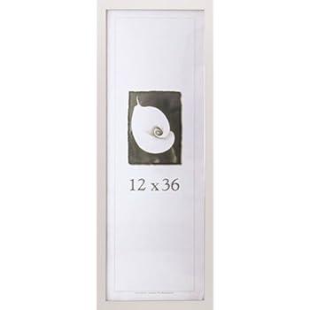 12x36 simply poly poster frame white - White Poster Frame