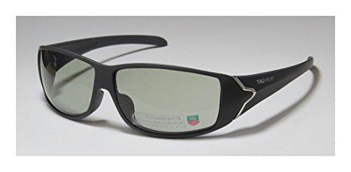 Tag Heuer 9207 Mens Designer Full-rim Sunglasses/Sun Glasses (65-12-125, Gray)
