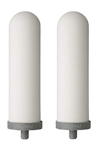 Propur ProOne 5-inch Slimline Replacement Filters for Propur Scout & Prepper Traveler Countertop Gravity Water Filter System - Removes Fluoride, Lead, Chlorine, Microplastics, and More - 1 Pair