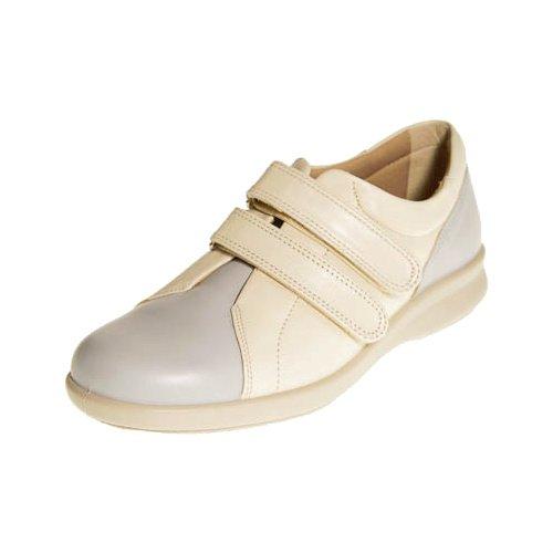 Shoes 4 UK Leather Light 6E Wide Fitting Dove Beige Shoes Blue Naomi DB SxPqUXx