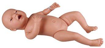 新生児沐浴練習人形(女の子) BA73-1 (24-6827-01)【エルラージーマー社】[1個単位] B07BD2VPN8