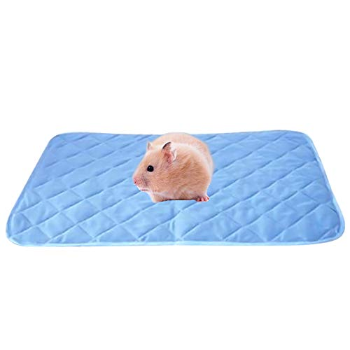 Tfwadmx Guinea Pig Bedding, Super Absorbent Disposable Cage Liners, Small Animal Sleep Mat Cage Liners Pad for Rat Chinchilla Hamster Guinea Pig Gerbil Rabbit Hedgehog