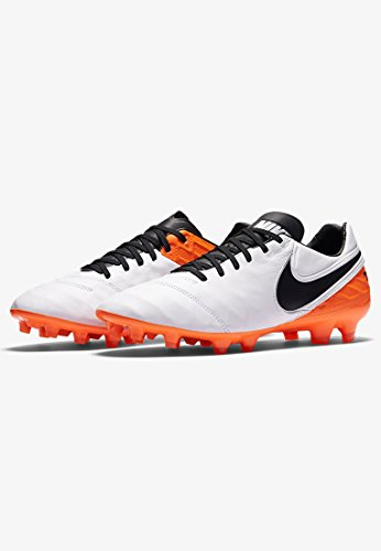 Nike Men's Tiempo Legacy Ii Fg Football Boots white - black - orange cheap real eastbay sneakernews cheap price sale the cheapest shop for cheap price 7CFtIoGoM0