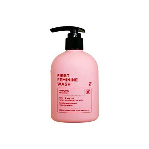 Boonco First Feminine Wash 6.76oz (200ml) – Vegan, pH-Balanced, For Sensitive Skin, Daily Cleansing Wash