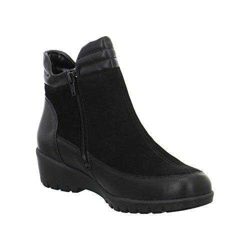 Waldläufer Boots Kamela Schwarz Femme 001 675803 303 rXqRrz