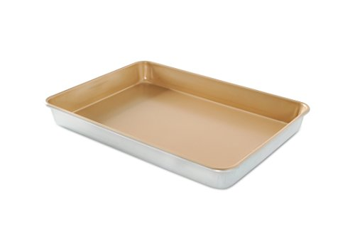 Nordic Ware Naturals Aluminum NonStick High-Side Sheet Cake Pan