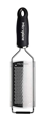 Microplane 45004 Gourmet Series Black Fine Grater